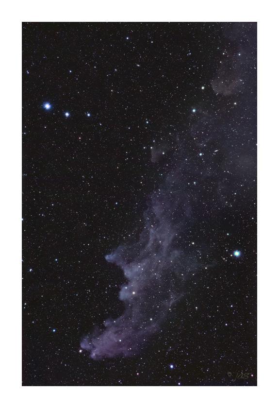 IC 2118 The Witch Head Nebula