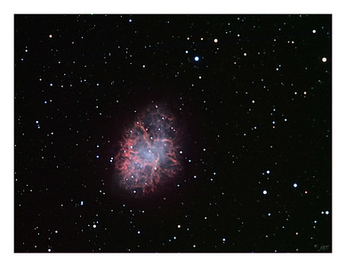 The Crab Nebula - M1 - Supernova Remnant in Taurus
