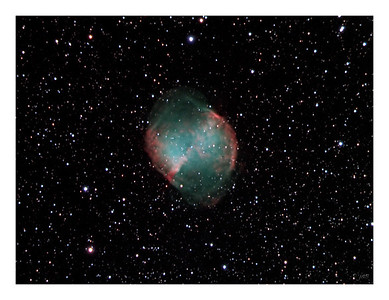 The Dumbell Nebula - M27 in Vulpecula