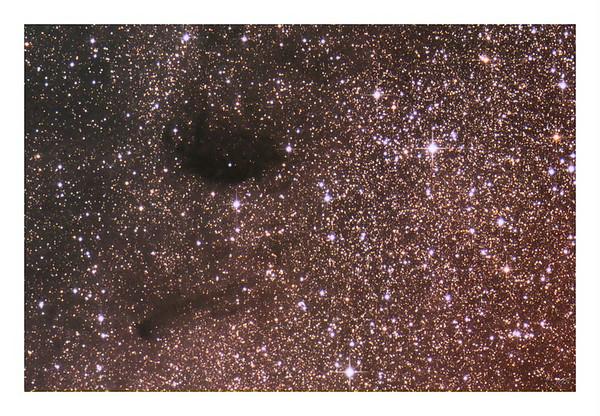 Barnard 92 and 93 Dark Nebuale in Sagittarius