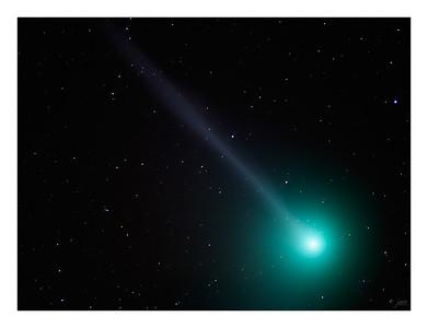 Comet c/2004  Q2 Machholz - 1/3/2005 in Taurus
