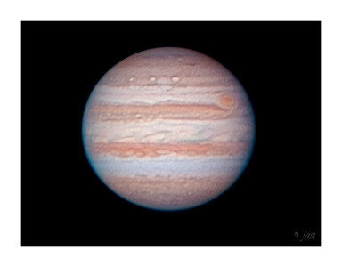 Jupiter - 4/17/2004 - TouCam Pro Webcam - Published - Astronomy Magazine