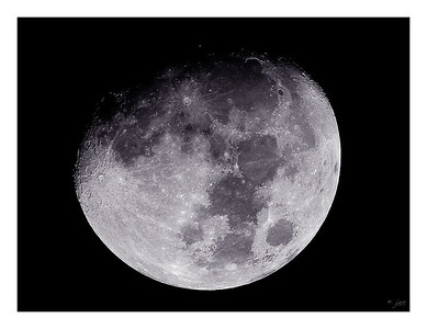 10-day Moon - 10/7/2003 - Fuji Provia 400F