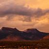Bears Ears in sunset light, Bears Ears National Monument, San Juan County, Utah