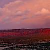 Bears Ears formation looking out toward Cedar Mesa during sunset, Bears Ears National Monument, San Juan County, Utah