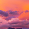 Sunset on the Bears Ears formation, Bears Ears National Monument, San Juan County, Utah