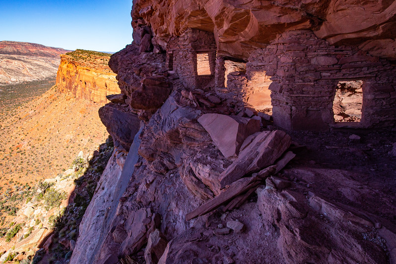 Ancestral Pueblo structures , Bears Ears National Monument and environs, San Juan County, Utah