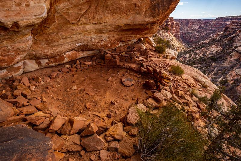 Ancestral Pueblo kiva, Bears Ears National Monument, San Juan County, Utah