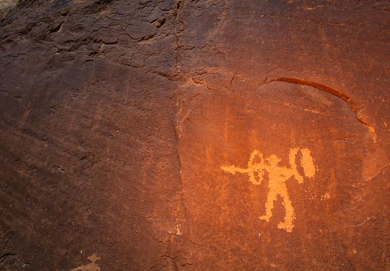 Ute petroglyphs, Bears Ears National Monument and environs, San Juan County, Utah