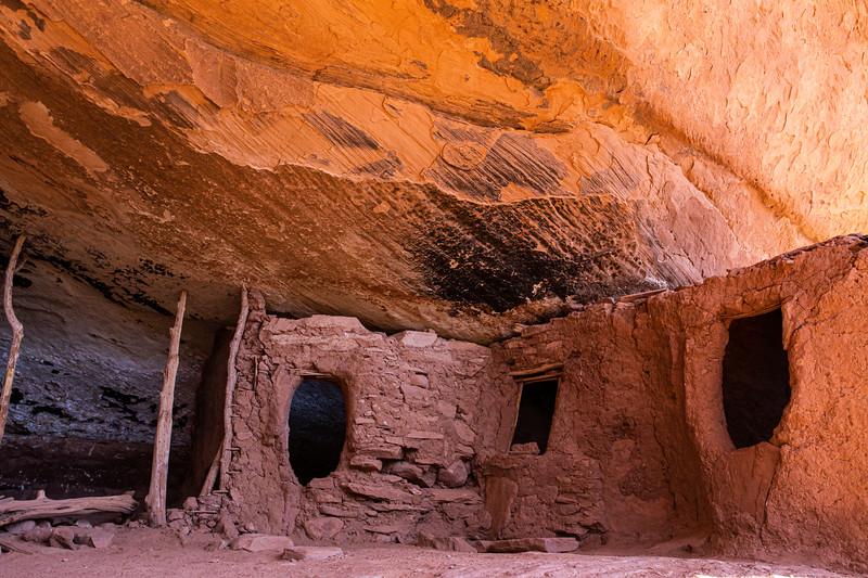 Moonhouse, Ancestral Pueblo, Bears Ears National Monument, San Juan County, Utah