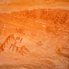 Ancestral Puebloan pictographs (stylized handprints, anthropomorph), Bears Ears National Monument and environs, San Juan County, Utah