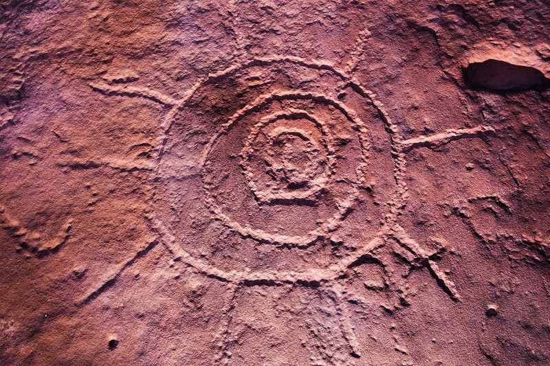 Ancestral Pueblo petroglyphs, Bears Ears National Monument and environs, San Juan County, Utah