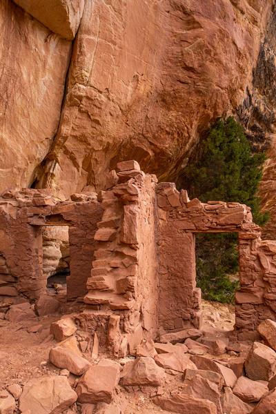 T-door structures, Ancestral Pueblo, Bears Ears National Monument, San Juan County, Utah