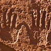 Ancestral Puebloan hand petroglyphs, Bears Ears National Monument and environs, San Juan County, Utah