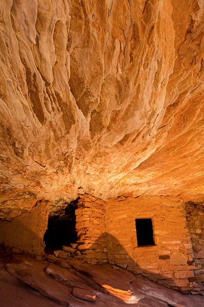 'House on Fire' Ancestral Pueblo structure , Bears Ears National Monument and environs, San Juan County, Utah