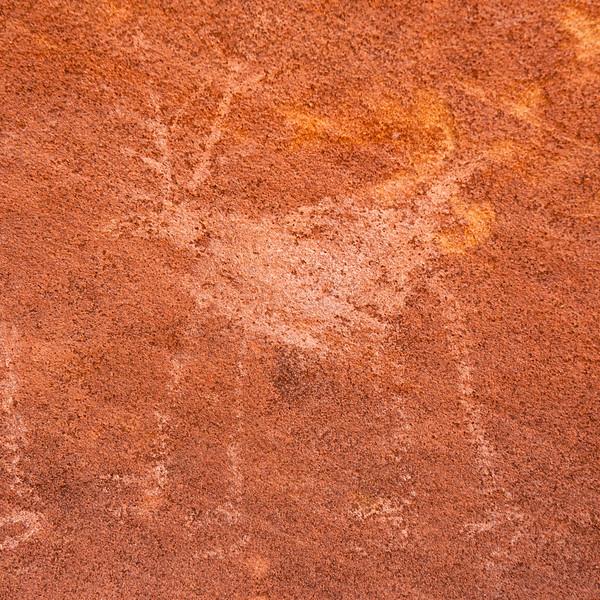 Ancestral Puebloan deer pictograph, Bears Ears National Monument and environs, San Juan County, Utah