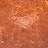 Ancestral Puebloan deer pictograph, Bears Ears National Monument and environs, San Juan County, Utah