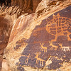 Fremont and proto-historic (?) petroglyphs, Bears Ears National Monument and environs, San Juan County,  Utah