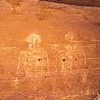 Basketmaker anthropomorph pictographs, Bears Ears National Monument and environs, San Juan County, Utah