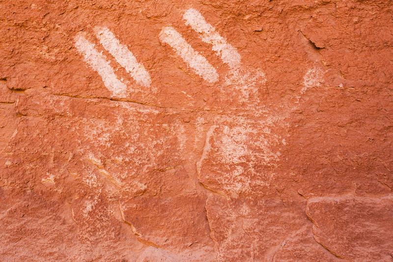 Basketmaker pictographs, Chinle Representational Style, Bears Ears National Monument and environs, San Juan County, Utah