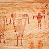 Basketmaker pictographs, Bears Ears National Monument and environs, San Juan County, Utah