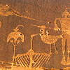 "The ""Wolfman"" Basketmaker petroglyphs , Bears Ears National Monument and environs, San Juan County, Utah"