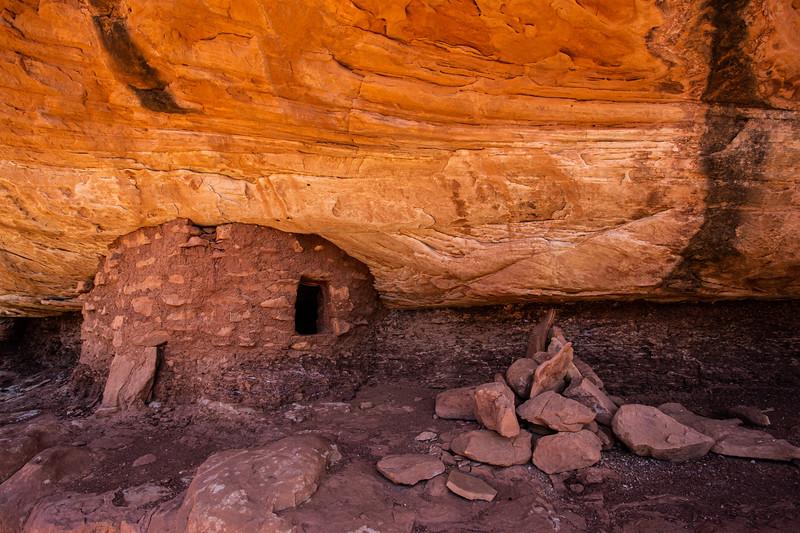 Ancestral Pueblo structure, Bears Ears National Monument, San Juan County, Utah