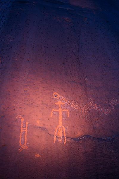 Basketmaker birthing / fertility petroglyphs , Bears Ears National Monument and environs, San Juan County, Utah