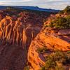 Comb Ridge sunset, Bears Ears National Monument and environs, San Juan County, Utah