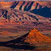 Raplee Ridge sunset, Bears Ears National Monument, San Juan County, Utah