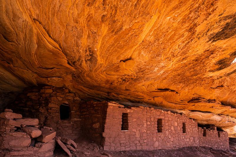 Ancestral Pueblo structures, Bears Ears National Monument, San Juan County, Utah