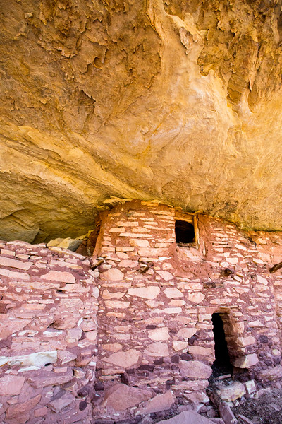 Two-story room, Ancestral Pueblo structure , Bears Ears National Monument and environs, San Juan County, Utah