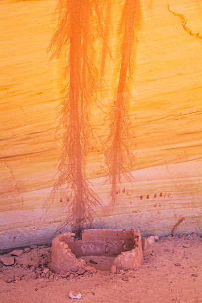Ancestral Pueblo structure with pictographs , Bears Ears National Monument and environs, San Juan County, Utah