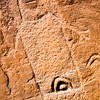Anthropomorph with vulva, Ute petroglyph, Bears Ears National Monument and environs, San Juan County, Utah