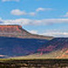 Bears Ears formation panorama, Bears Ears National Monument and environs, San Juan County, Utah