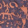 Newspaper Rock archaeology site, Ute petroglyphs, Indian Canyon, Bears Ears National Monument, San Juan County, Utah