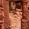 T-door structure, Ancestral Pueblo, Bears Ears National Monument, San Juan County, Utah