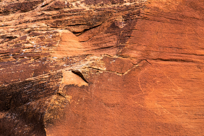 Historic Ute portrait petroglyph, Bears Ears National Monument and environs, San Juan County, Utah