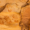 Ancestral Pueblo painted handprints , Bears Ears National Monument and environs, San Juan County, Utah