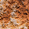 Extreme macro of Ancestral Pueblo pigment, Utah