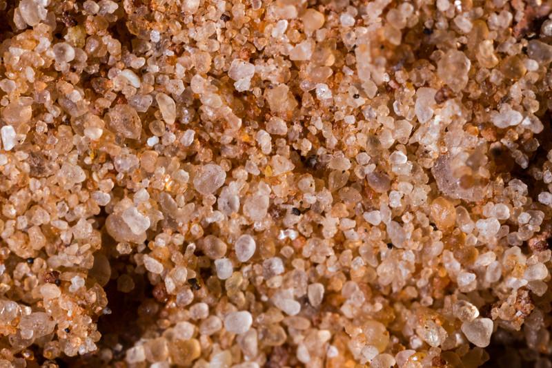 Extreme macro sand grains, Natural Bridges National Monument, San Juan County, Utah