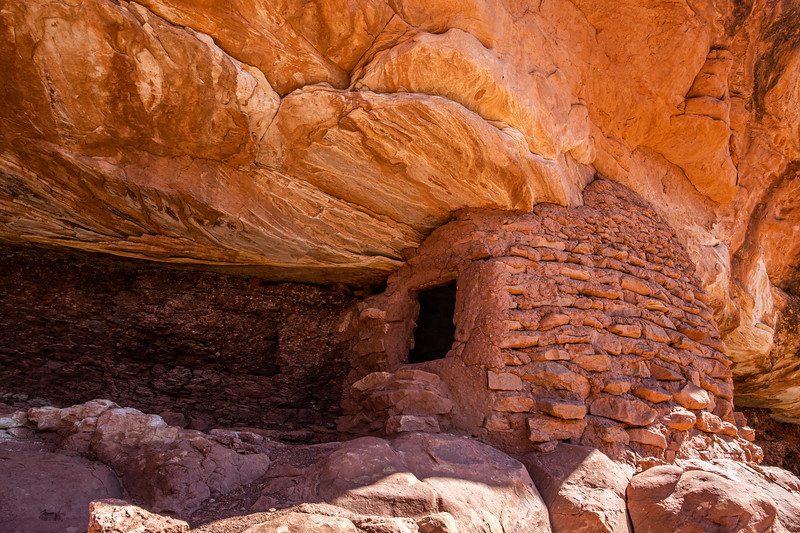 Ancestral Pueblo structure, Bears Ears National Monument, San Juan County, Utah