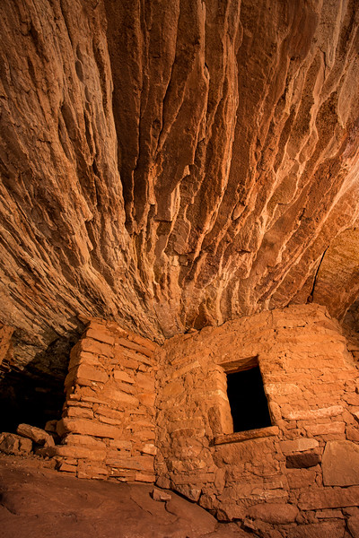'House on Fire', Ancestral Puebloan structure, Bears Ears National Monument and environs, San Juan County, Utah