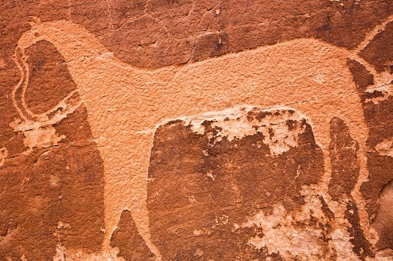 Ute Representational Style petroglyphs, Bears Ears National Monument and environs, San Juan County, Utah