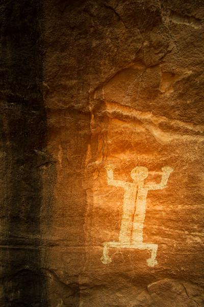 Ancestral Pueblo pictographs , Bears Ears National Monument and environs, San Juan County, Utah
