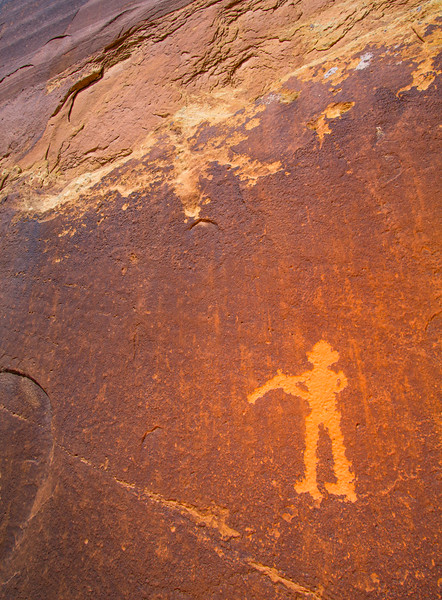 Ute petroglyphs, Bears Ears National Monument and environs, San Juan County, Utah