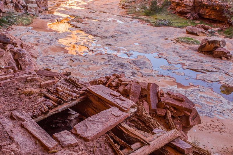 Kiva, Ancestral Pueblo structure , Bears Ears National Monument and environs, San Juan County, Utah