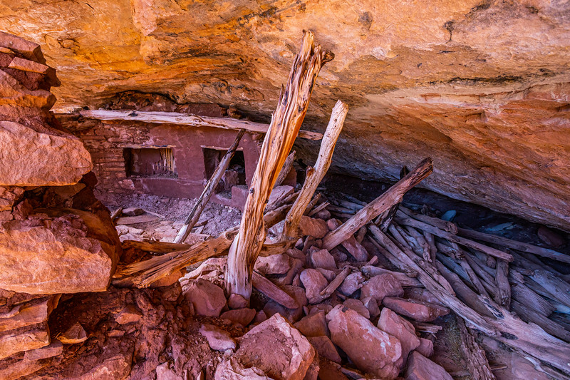 Kiva, Ancestral Pueblo, Bears Ears National Monument, San Juan County, Utah