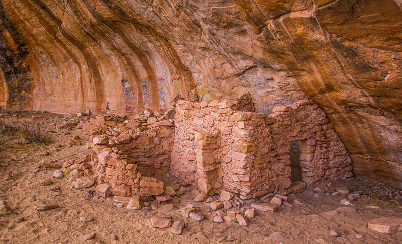 Ancestral Puebloan structure, Bears Ears National Monument and environs, San Juan County, Utah
