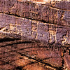 Glen Canyon Linear Style petroglyphs, Archaic period , Bears Ears National Monument and environs, San Juan County, Utah